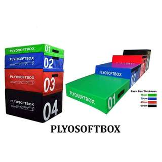 Plyosoft box and other gym equipments