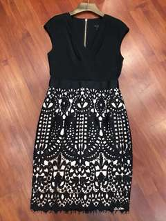 Ted baker lace dress
