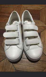 White Velcro Shoes