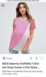 Brand new Asos Maternity Nursing Tshirt
