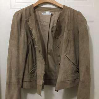 See By Chloe suede leather jacket- size 6