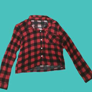 Red flannel-like (checkered)