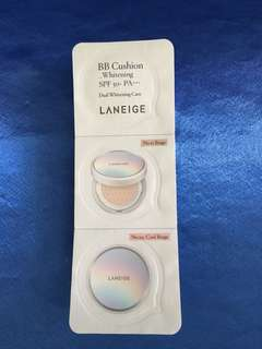 Laneige Whitening BB Cushion Sample