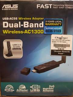 BNIB ASUS USB-AC56 Wireless Adapter