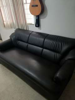Sofa Set (Black)