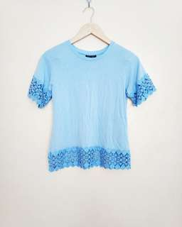 Topshop Detailed Top