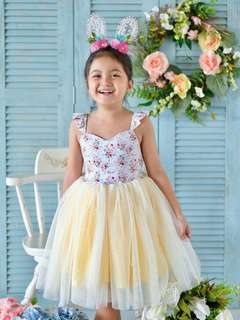 Laila & Lyra Camellia Tutu Dress