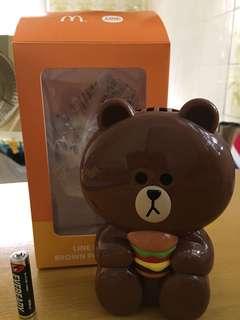 Line friend 熊大風扇