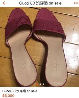 🚚 Gucci 高跟鞋 8b on sale