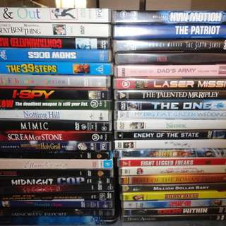 """Bulk DVD""""s"""