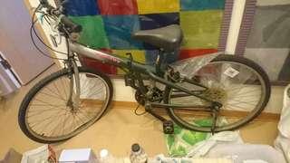 可收折變速腳踏車