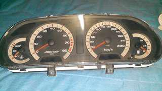 Meter kereta waja manual