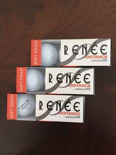 Bola golf 9 pcs - NEw