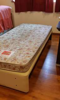 (Ltd time only!) Single Bed with Mattress
