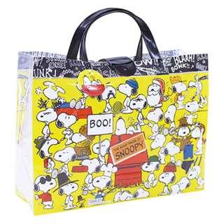 [PO] SNOOPY Japan Beach Bag Machiari L Many Faces of Snoopy