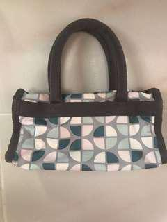 Authentic Lesportsac mini handbag (EUC)