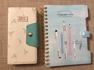 Take 2! Girly Notebooks