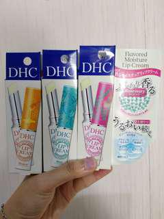 DHC flavored lip cream lipbalm