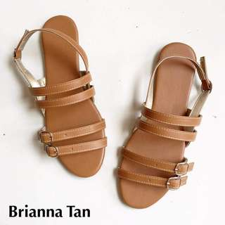 Brianna Sandals - Tan - Size 6