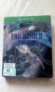 Xbox one Final Fantasy XV Deluxe Edition