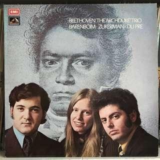 Beethoven Archduke Trio du Pre Barenboim Zukerman EMI ASD 2572