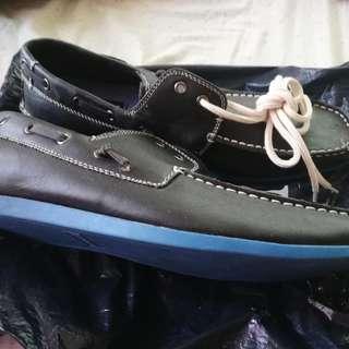 Steve Madden Black/Blue GENUINE LEATHER Shoes