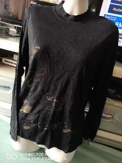 Black shirt S/M size