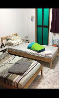 IKEA Bed + Bedframe