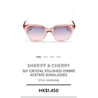 SHERIFF&CHERRY Brand Sunglasses 太陽眼鏡