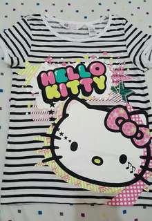 H&M hello kitty shirt