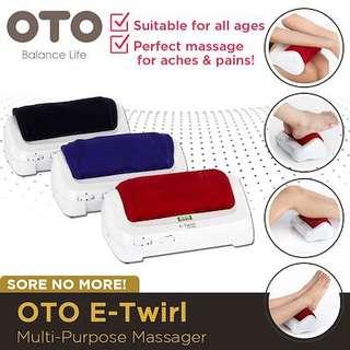 OTO e-Twirl Massager - Red