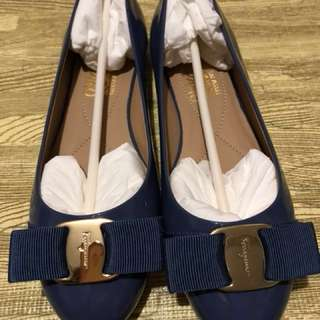 Salvatore Ferragamo Shoes Blue
