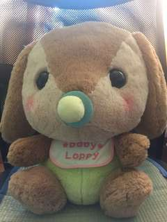 Loppy Baby soft toy from Japan