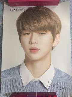 Wanna One lensnine代言丹poster