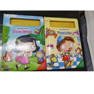 Children magnetic books