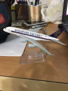 Singapore airline plane model