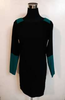 Asos Black-Teal Dress
