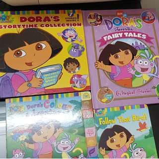Dora children bundle books set of 4