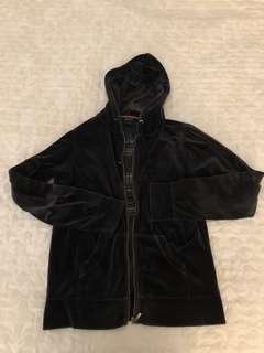 Gant Velvet Hooded Jacket