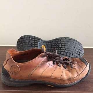極新 Timberland 真皮休閒鞋 Vibram鞋底
