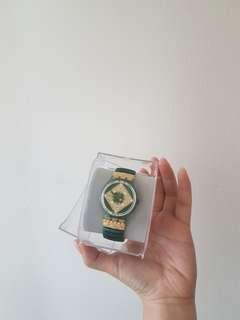 Swatch Green Bracelet Watch