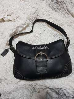 HIGH END REPLICA COACH LEATHER HOBO BAG #9248