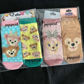 Disney Shellia May Socks Duffy Bear