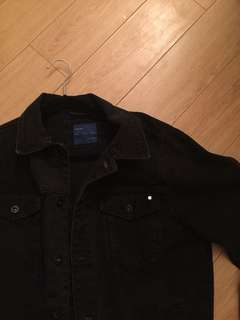 Zara Black Denim Jacket