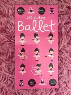 240 Mini Stickers <Ballet>