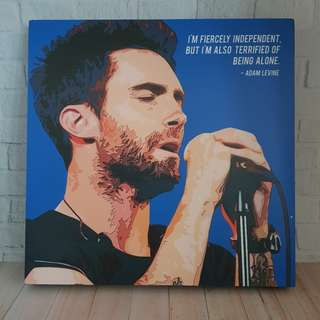 Wall decoration adam levine