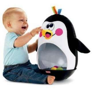 Authentic Fisher Price Penguin Wobble Toy