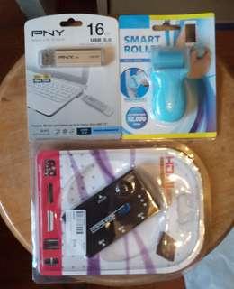 HDMI分插器+USB3.0 16gb手指的+屏幕清潔刷