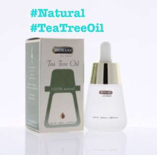 GSS: Instocks: 100% Natural: Tea Tree Oil (40ml) #Large #Pimples #Clear