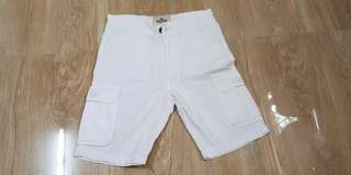 Preloved White Shorts - for 4 to 6 years old